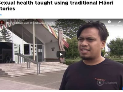 Sexual health taught using traditional Māori stories